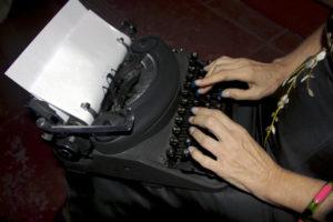 typewriter-photo Penelope Torribio